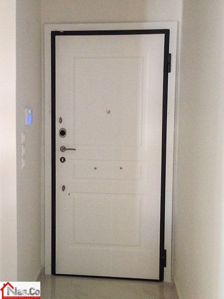 Ολική Ανακαίνιση Νέο Φάληρο - Πόρτα Ασφαλείας NasDoors