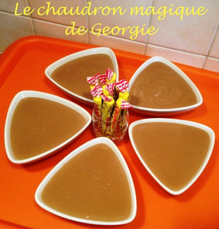Crème dessert gourmande aux Carambars au Thermomix