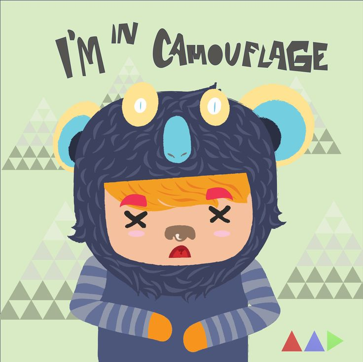 i'm in camouflage i'm hiding in another form, not for make me look's good in front of you, but it for knowing about you,...