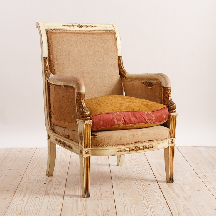 Pair of French Napoleon III Armchairs, - 60 Best Antique Armchairs Images On Pinterest Antique Armchairs