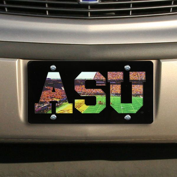 Arizona State Sun Devils Stadium Photovision License Plate - $24.99