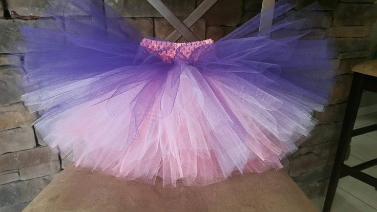 Tutu - Ombre Purple, Light Purple, Light Pink - TU-065