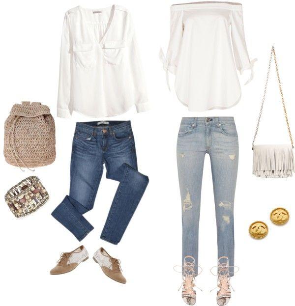 "Fashion Buddha: ""Blue jeans white shirt"""