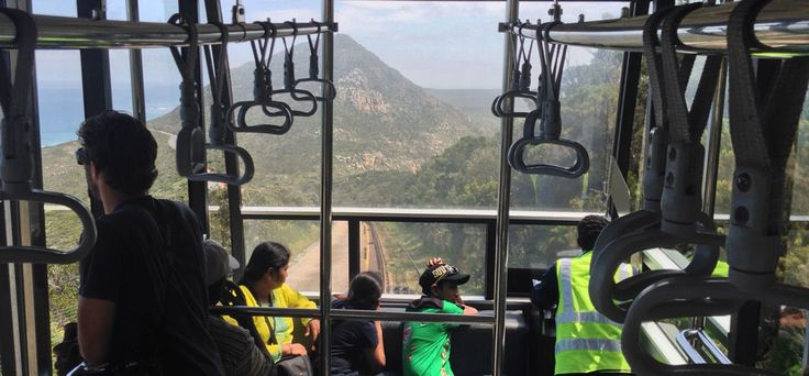 The Flying Dutchman funicular at| Cape Point.