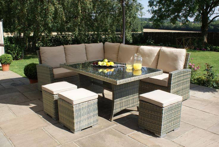 7 mejores ideas en Garden en Pinterest | Conjunto de sofás, Muebles ...