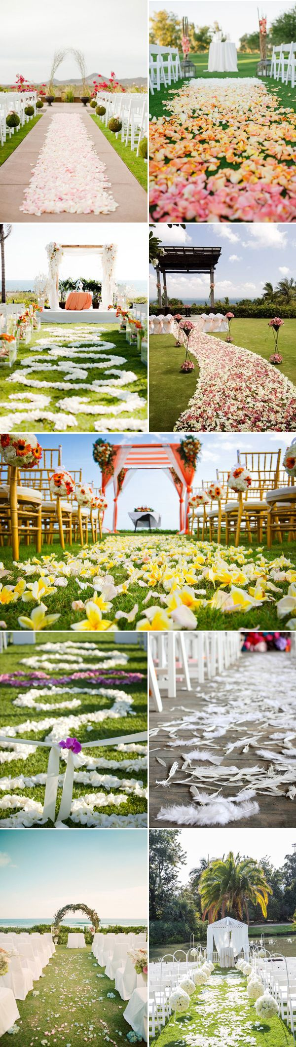25  Wedding Aisle Runner Ideas for Your Big Day | http://www.deerpearlflowers.com/wedding-aisle-runner-ideas-for-your-big-day/