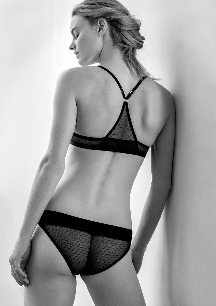 AIKYOU racerback bra AUDREY, perfectly teaming up with slip COCO: makes your back look beautiful!