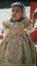 Resultado de imagen de vestido fallera niña