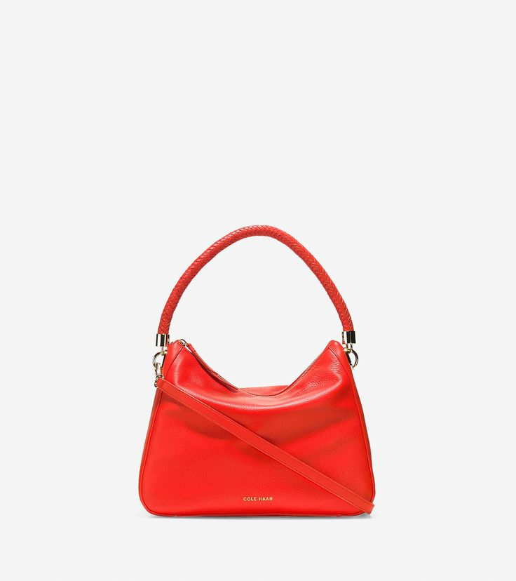 Cole Haan Outlet | Red Benson Convertible Hobo Crossbody | Lyst