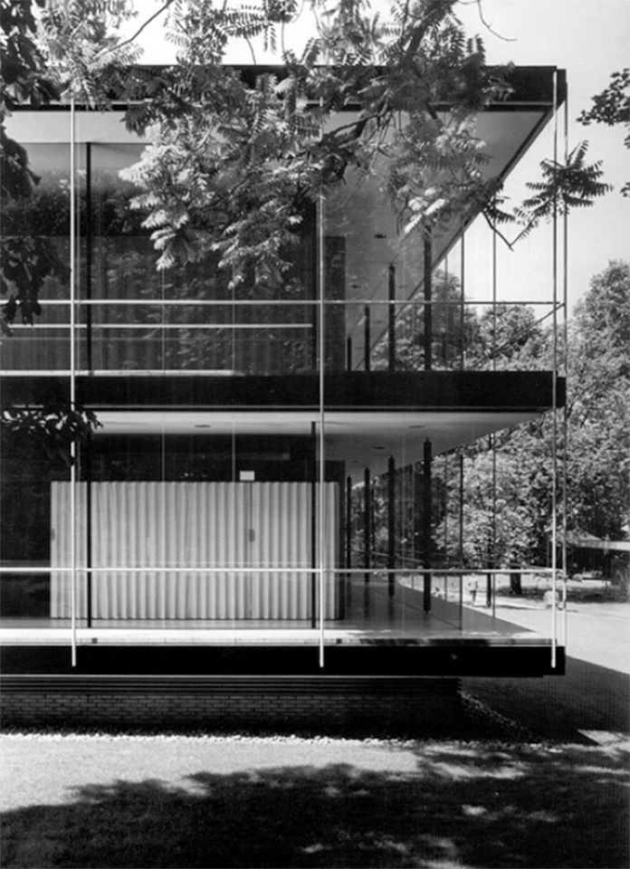 Egon Eiermann & Sep Ruf | German pavilion of the World Exhibition