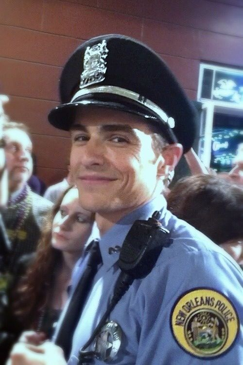 Dave Franco on the set of Now You See Me.