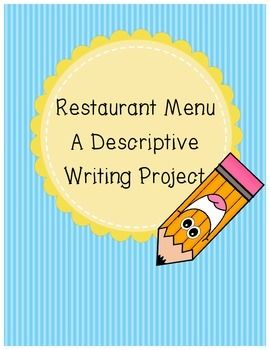 descriptive essay on a busy restaurant The 5 keys to writing persuasive sentences for busy readers be specific  when  your read this, too this vivid description elevates eating curry to an exotic  experience full of joy  i bet henrietta would love to open a restaurant reply.