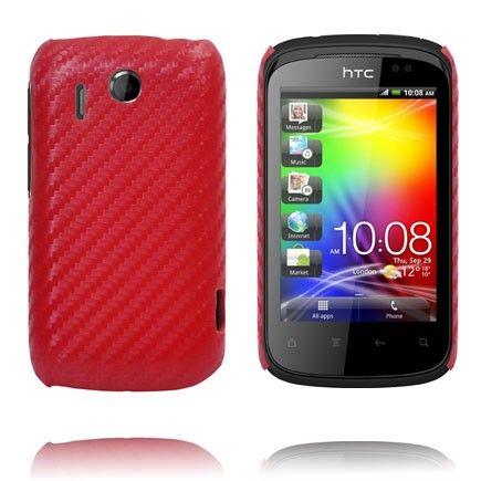 Carbon (Rød) HTC Explorer Deksel