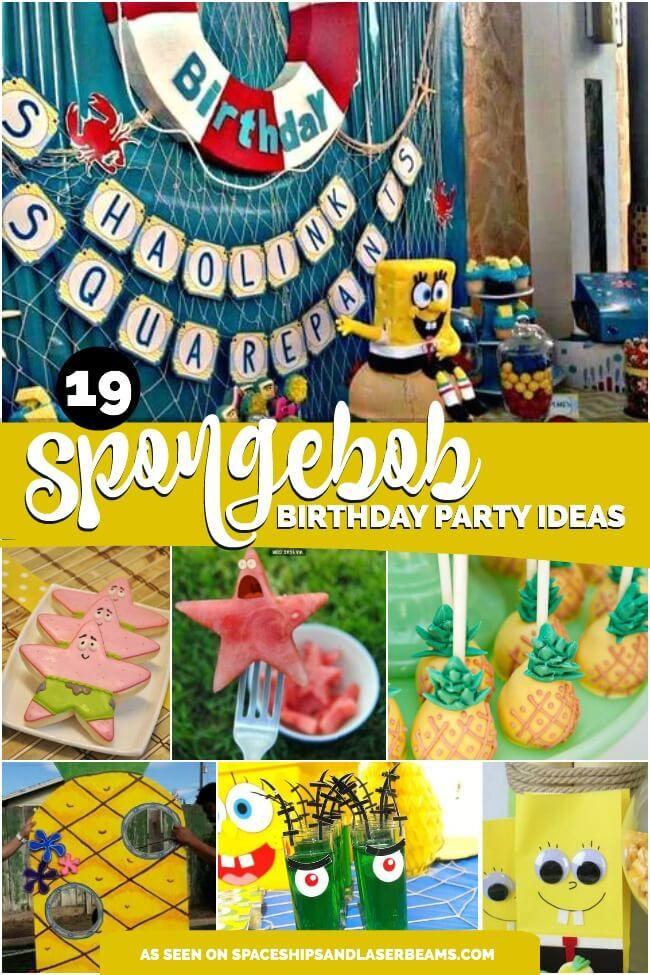 16 Best Spongebob Party Ideas Images On Pinterest