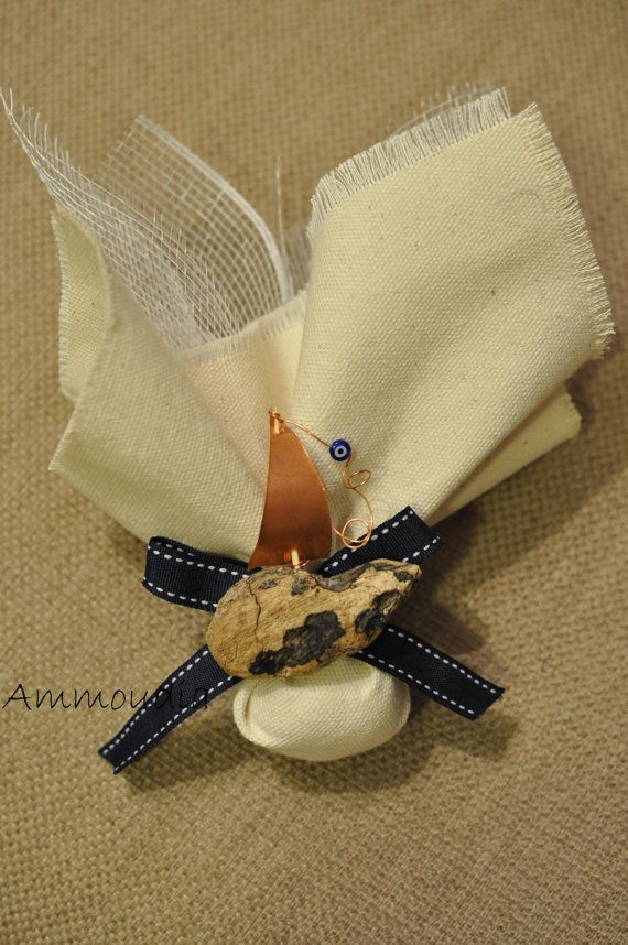 Driftwood sailboat favors wedding favors  bridal by AMMOUDIA, $6.30