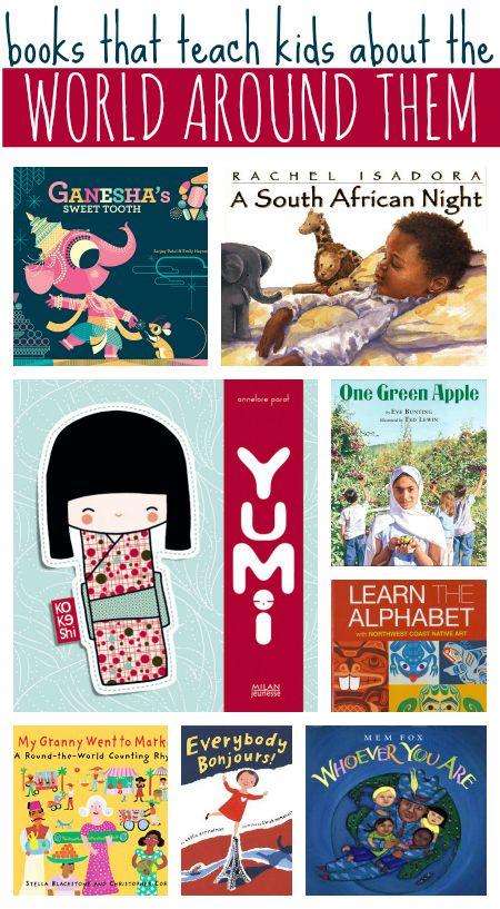 books that teach kids about the world around them #kidlit #childrensbooks #picturebooks