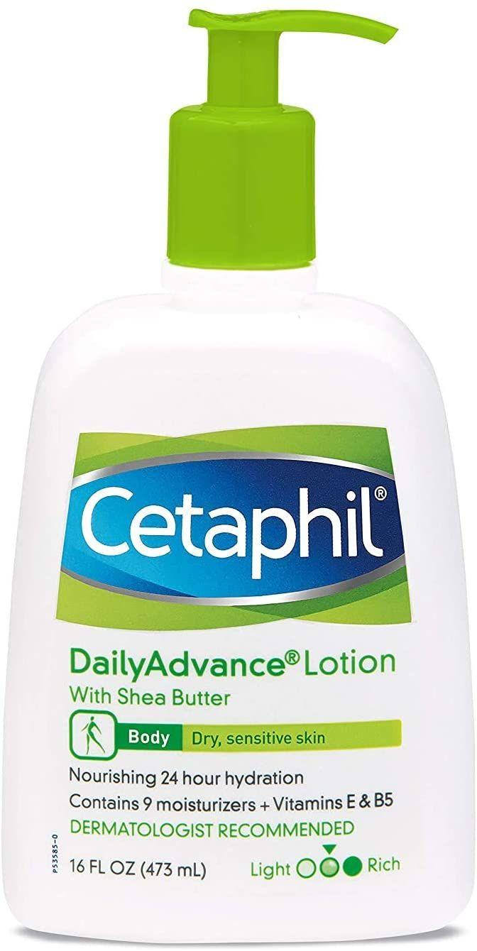 لوشن دايلي ادفانس للترطيب الفائق من سيتافيل للبشرة الجافة الحساسة 8 اونصة 2 قطعة اشتري اون لاين بأفضل ال In 2021 Hydrating Lotion Fragrance Free Products Cetaphil