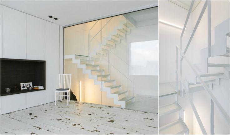 25 beste idee n over metalen trap op pinterest trap ontwerp en trappenhuis ontwerp - Ontwerp leuning ...