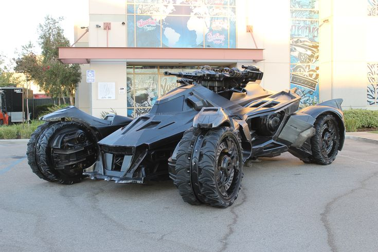 The Real-Life Batmobile from Batman: Arkham Knight Rocks