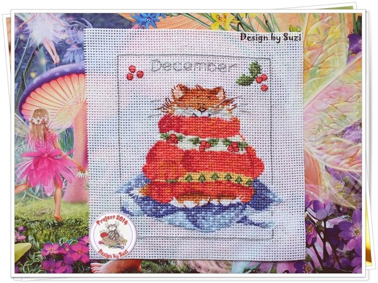 Project 2014: 37/40 December (Margaret Sherry-Calendar Cats)