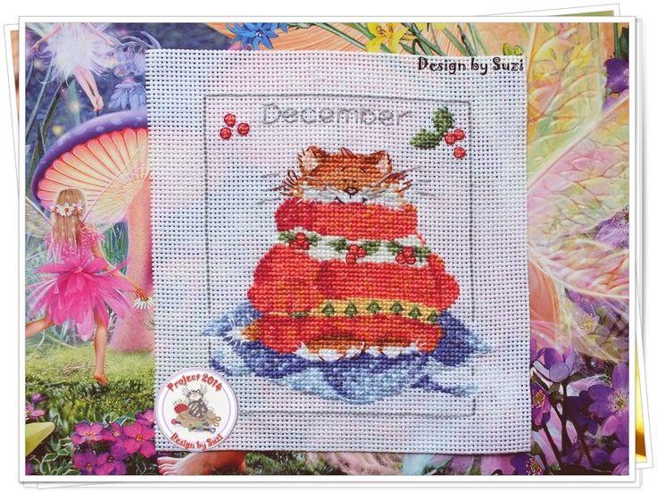 Project 2014: 37/40 December (Margaret Sherry-Calendar Cats)