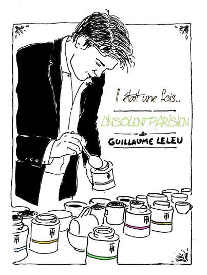 Guillaume LELEU, L'Insolent Parisien vu par l'illustrateur Claudio Burguez.