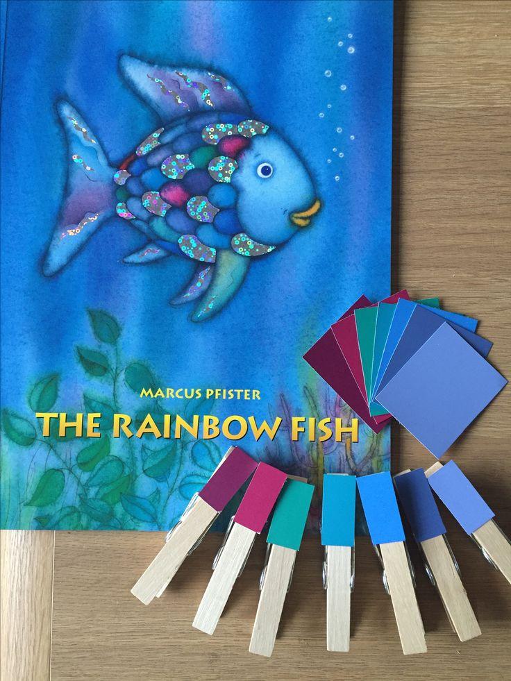 1000 Ideas About The Rainbow Fish On Pinterest Rainbow