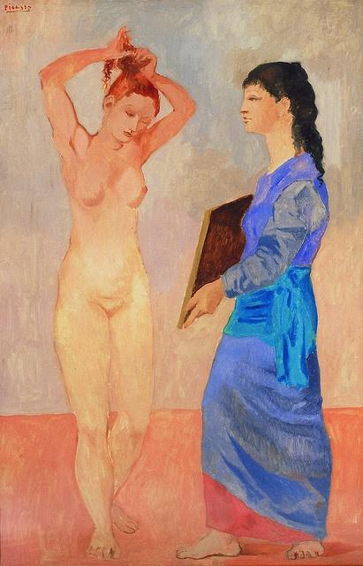 "Pablo Picasso ""La Toilette"" 1906 (Special Exhibit at San Diego Museum of Art)"