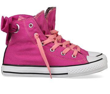 Converse kinderschoenen All Star Bow 651726C pink koop je online bij MooieSchoenen.nl