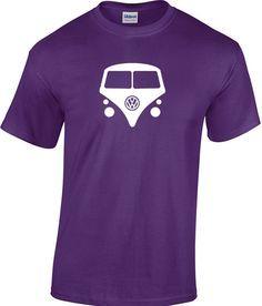 VW volkswagen kombi van vanagon hippie bus T-Shirt