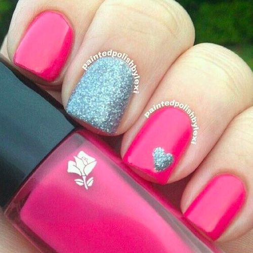 Looking to be romantic this Valentine's Day? Every girl wants to feel special on Valentine's Day and your nails want to feel special too. Get some great inspiration below with12 Valentine's Nail Designs for Heavy Romance. Red hot baby! 12 Valentine's Nail Designs for Heavy Romance Buy Nail Polish Here: Next –>