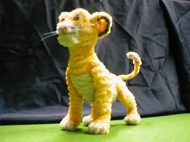 Pipecleaner Simba  there is no denying the amazingness here