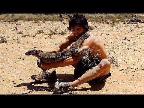 Big Lizard claws man (Painful to watch) - YouTube SO FUNNY!