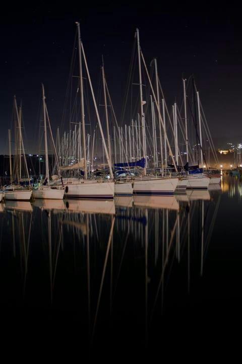 Lerici: nocturnal reflections  #lerici