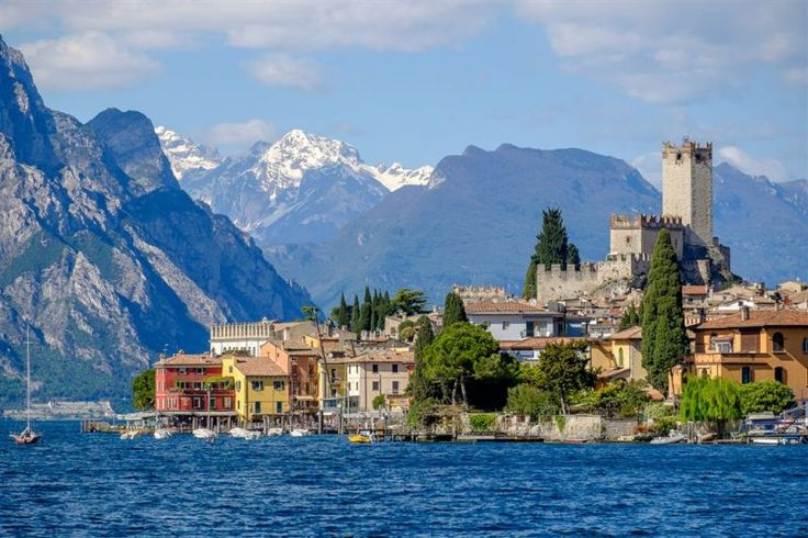 italie severni italie lago di garda leto malcesine