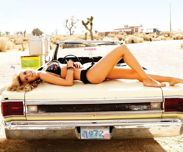 aly michalka op spring campaign classic cars women. Black Bedroom Furniture Sets. Home Design Ideas