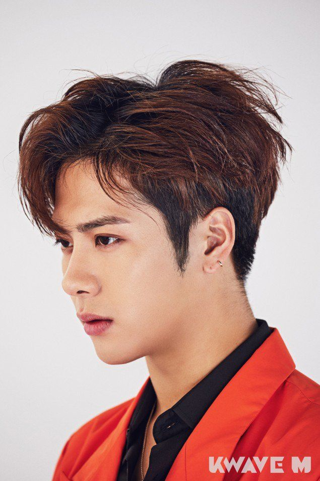 Jackson is chic for the cover of 'Kwave M' | allkpop.com