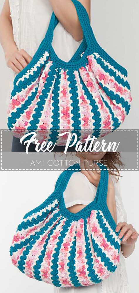 Ami Cotton Purse – Free Pattern
