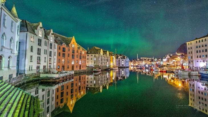 Aurora Borealis - Aalesund, Norway