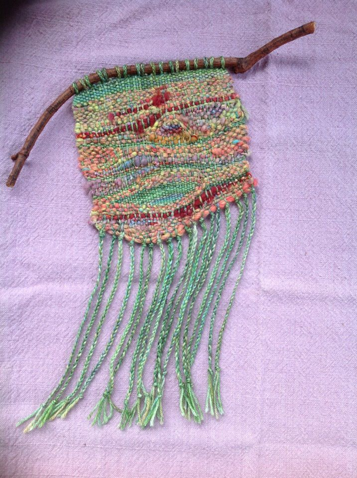 Lizards in the Leaves: Small Spirit Weavings