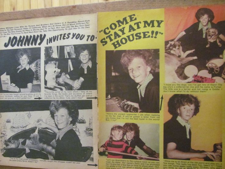johnny whitaker age