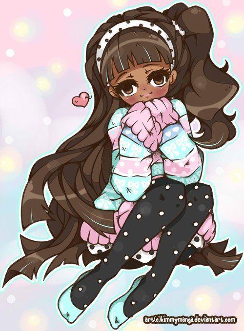 back anime girl - photo #6