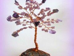 Stromeček s ametystem-šeříkový