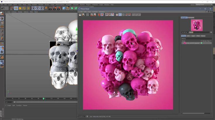Part One: How to do a Rendertime Object Swap in Cinema 4D