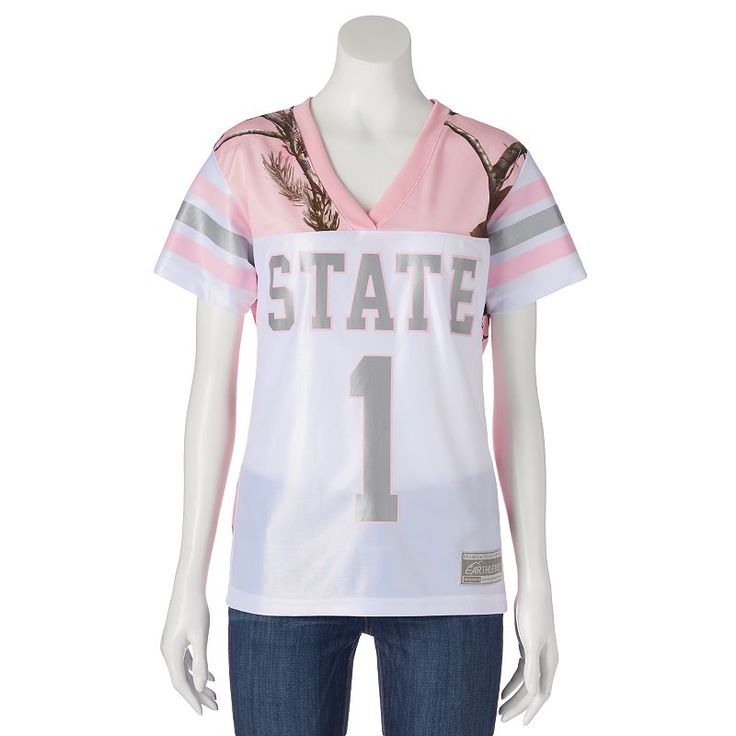 Women's Realtree Mississippi State Bulldogs Game Day Jersey, Size: Medium, White