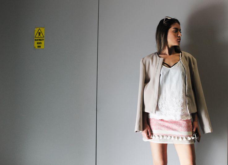 Designerwear fashionable unique wearing #skirt #top #jacket #aw18 #spring #fashion #women