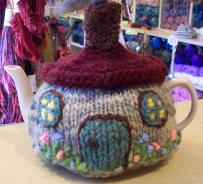 Have a Yarn -September - Stitch of the Month - Cottage Tea Cozy