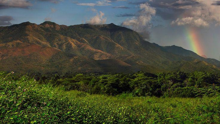 Sierra Maestra - The Sierra Maestra mountains in Santiago de Cuba