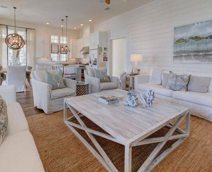 Beach House Decor Living Rooms At Sugarsbeach Com Beach Living
