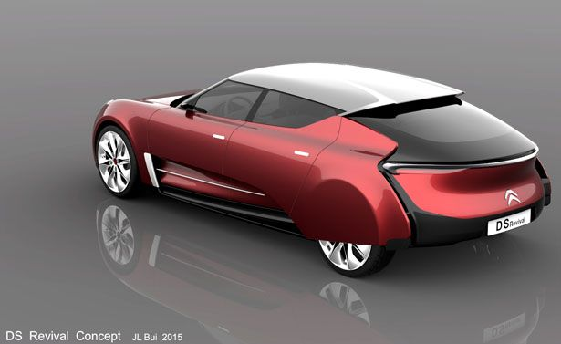 Citroen DS Revival Concept Car by Jean-Louis Bui